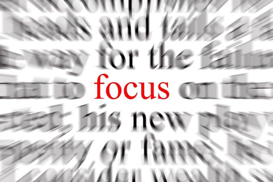 A Weird but Effective Way to Focus